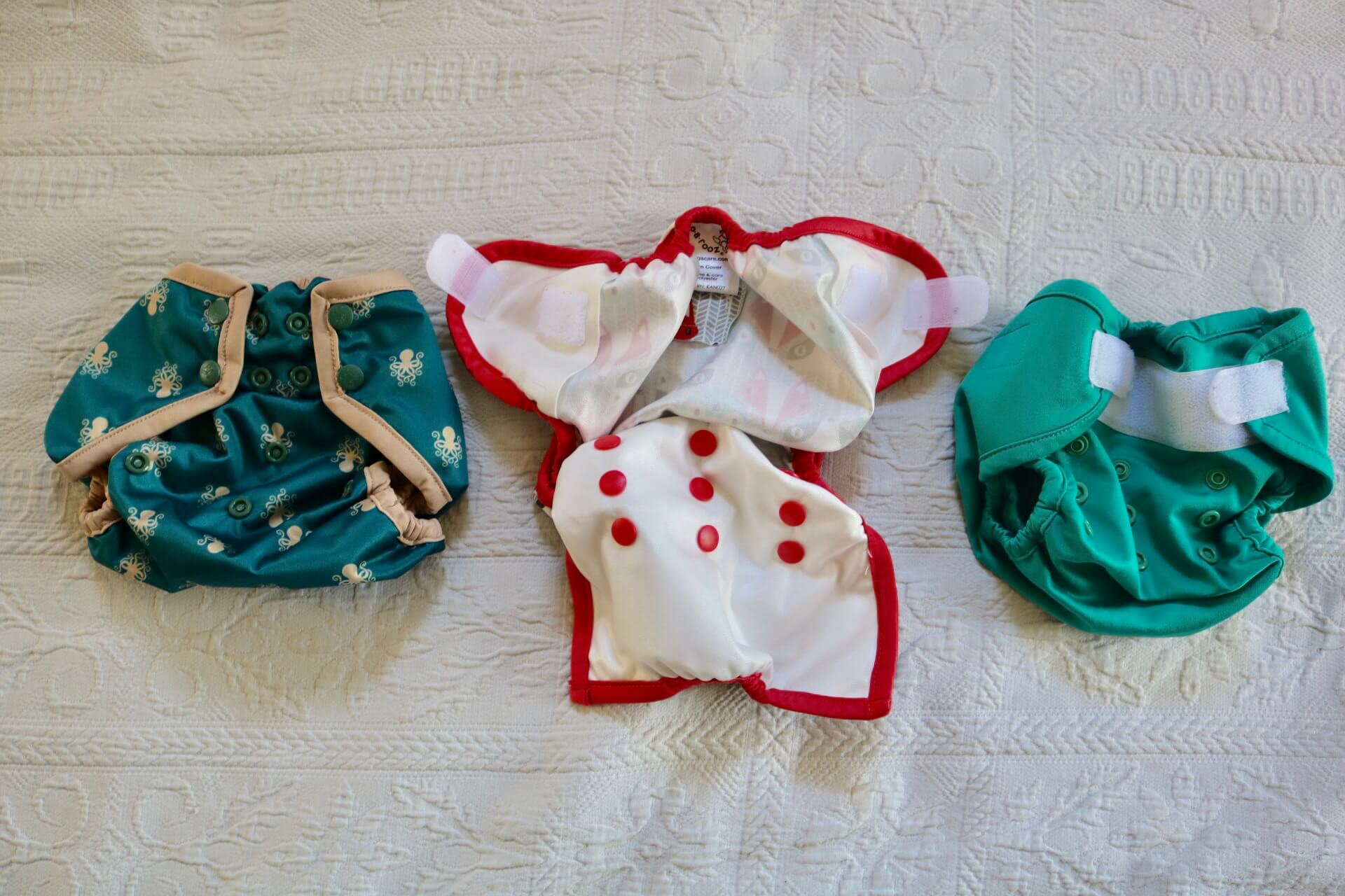 Two Piece Cloth Diapers